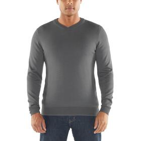 Icebreaker Quailburn Sweater Herrer, timberwolf